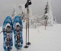 Zwei Spuren im Schnee....!