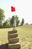Viele bunte Luftballons ...