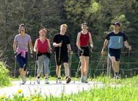 Kurzurlaub mit Massage & Nordic-Walking-Tour