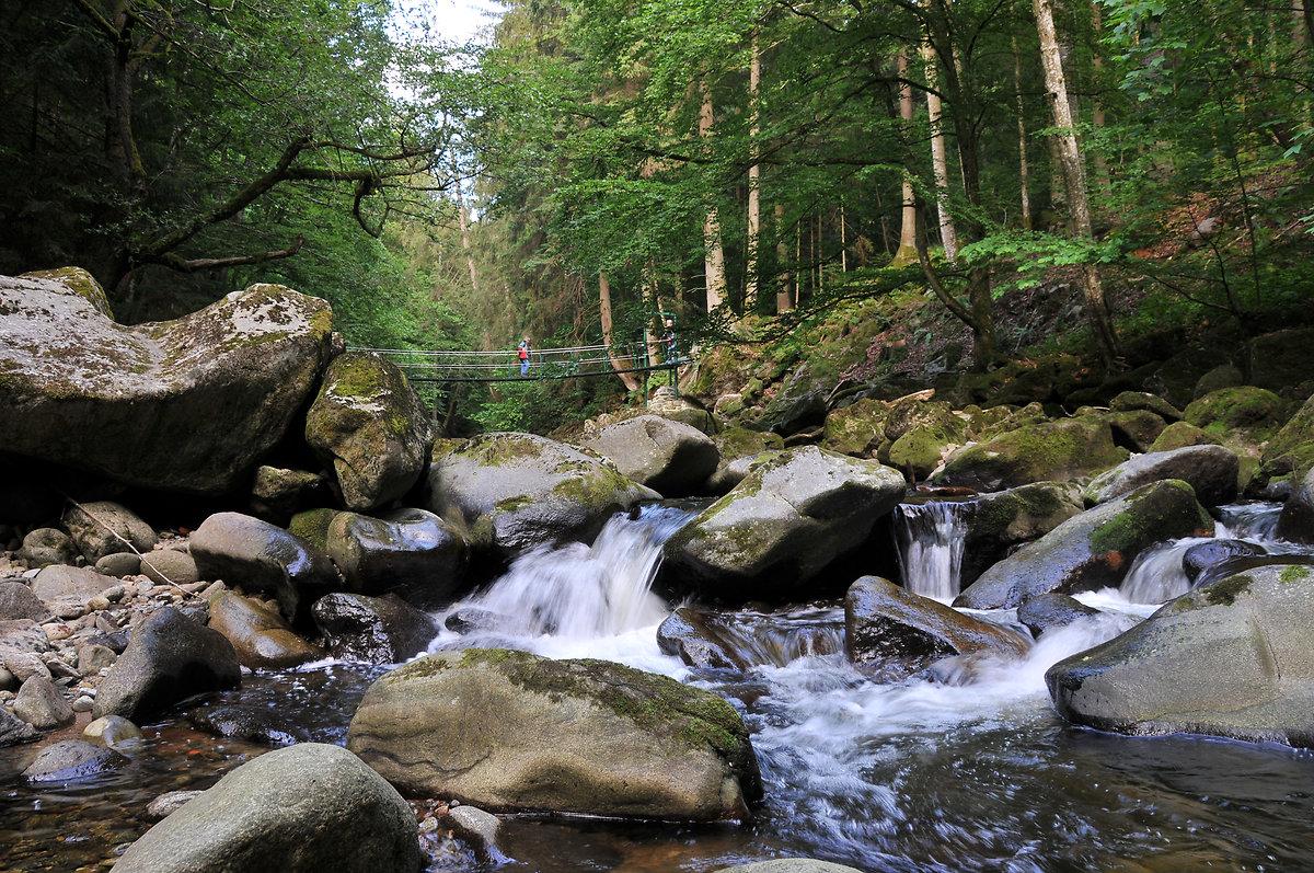 Wandern, Wander-Ge(h)nuss an der Wildbachklamm