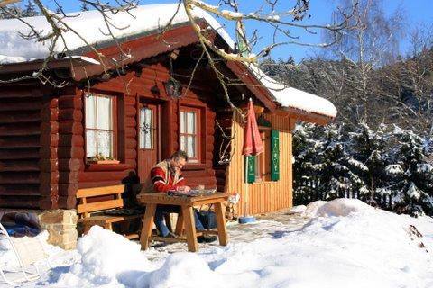 Ferienhaus im rustikalem Backhäusl Romantikurlaub